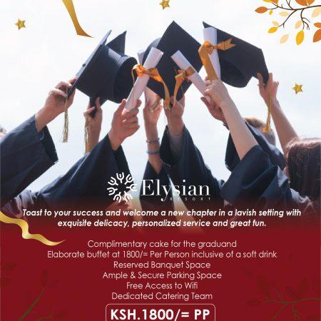 Graduation at elysian